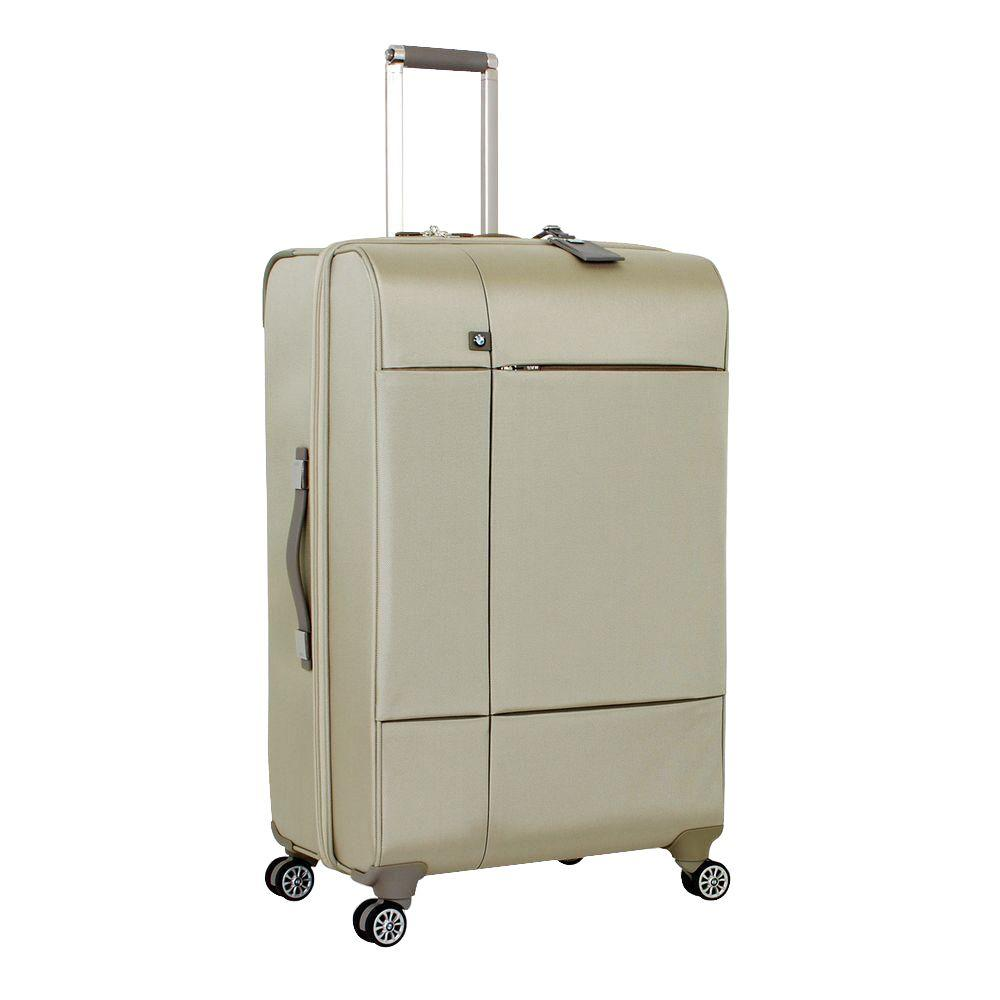 29 in. Champagne Split Case Spinner Suitcase