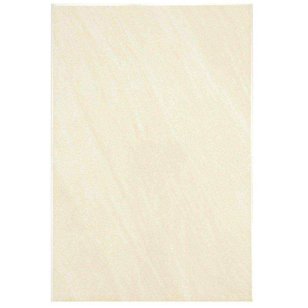 Merola Tile Wave Limestone 8 in. x 12 in. Ceramic Wall Tile (11 sq. ft. / case)