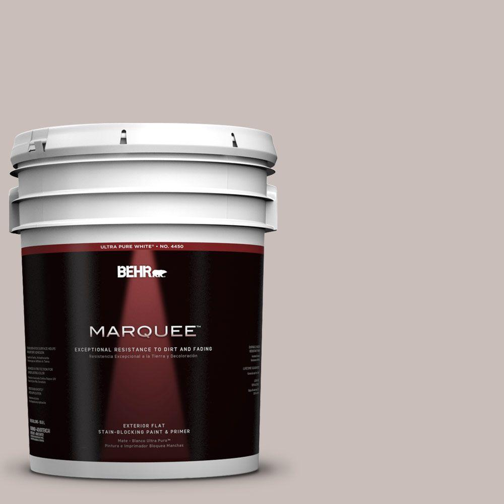 5-gal. #780A-3 Down Home Flat Exterior Paint