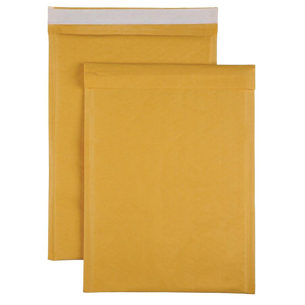 Bubble Cushioned Mailers Size 5 Envelope, Kraft (100-Carton)