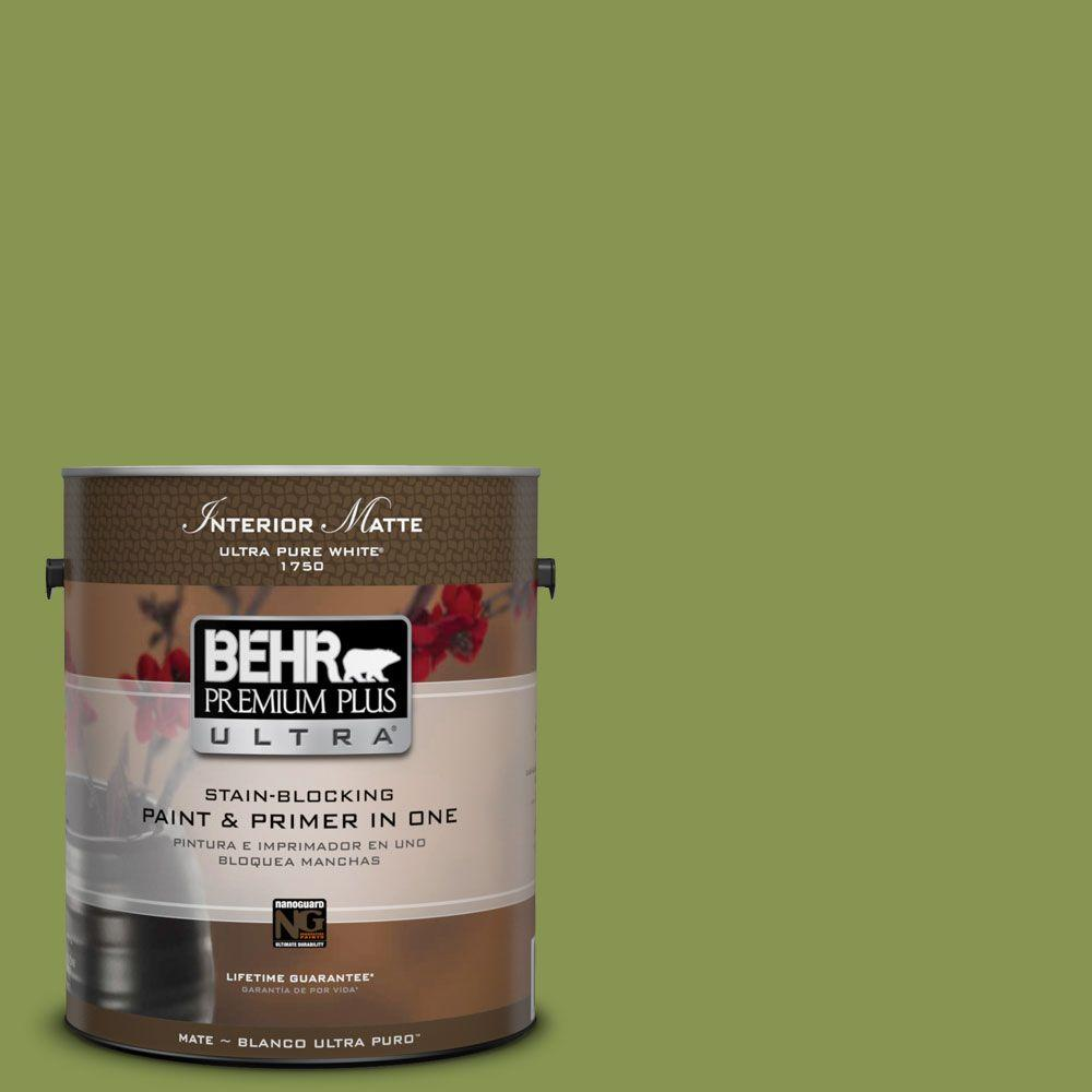 1 gal. #M350-6 Frog Matte Interior Paint
