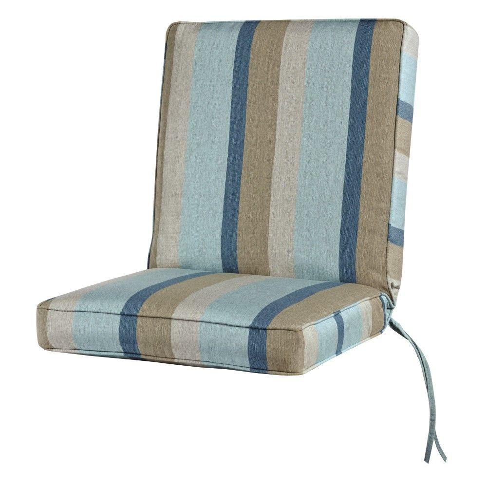 Home Decorators Collection Sunbrella Gateway Mist Outdoor Lounge Chair
