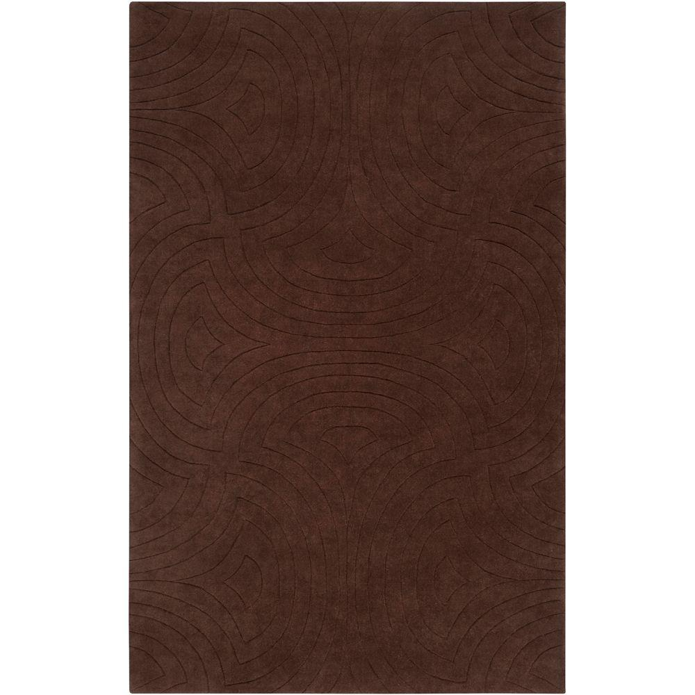 Surya Candice Olson Brown 9 ft. x 13 ft. Area Rug