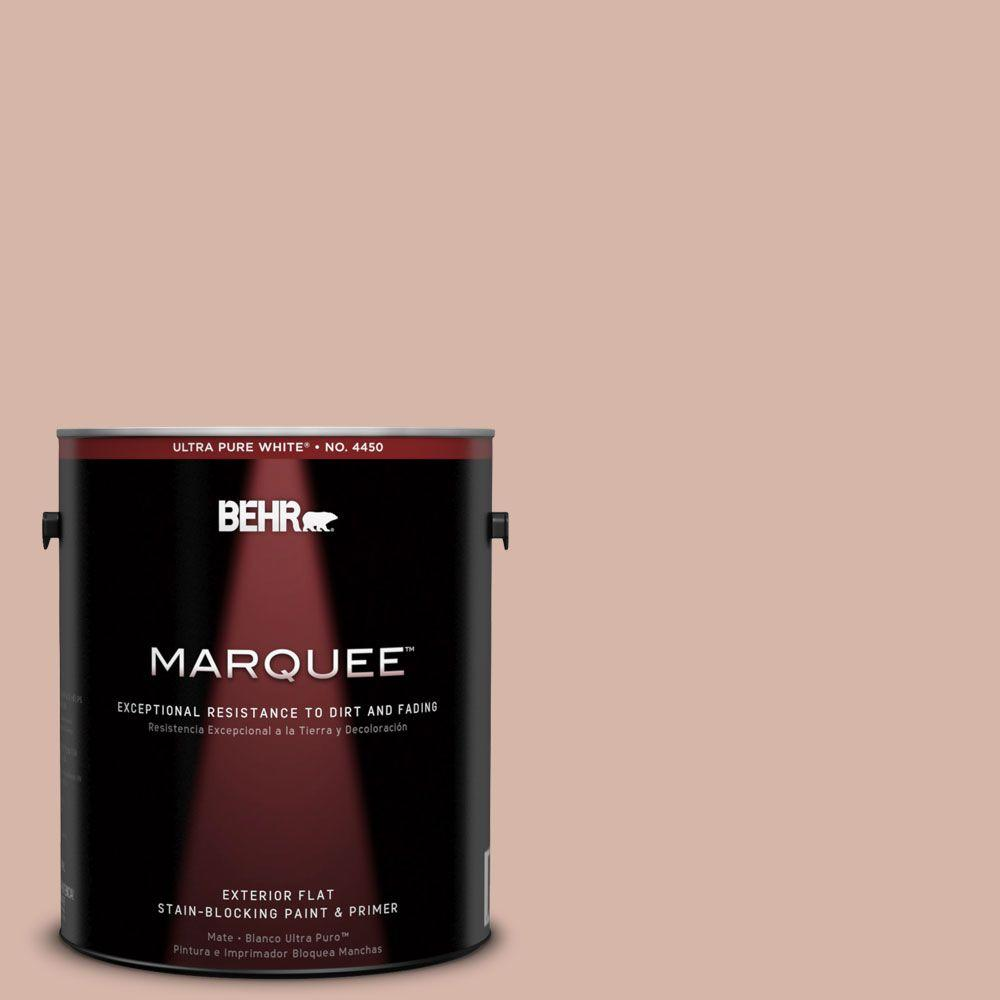 BEHR MARQUEE 1-gal. #230E-3 Canyon Trail Flat Exterior Paint-445001 - The