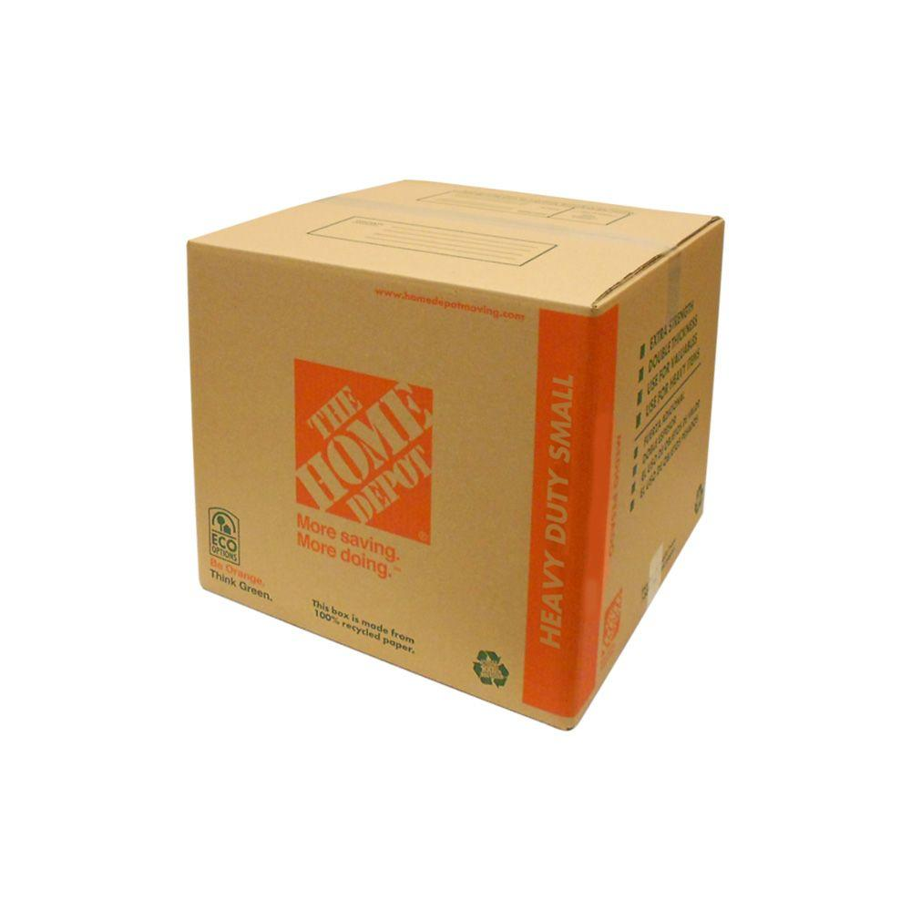 The Home Depot 16 in. x 12 in. x 12 in. 85 lb. Heavy-Duty Small Box