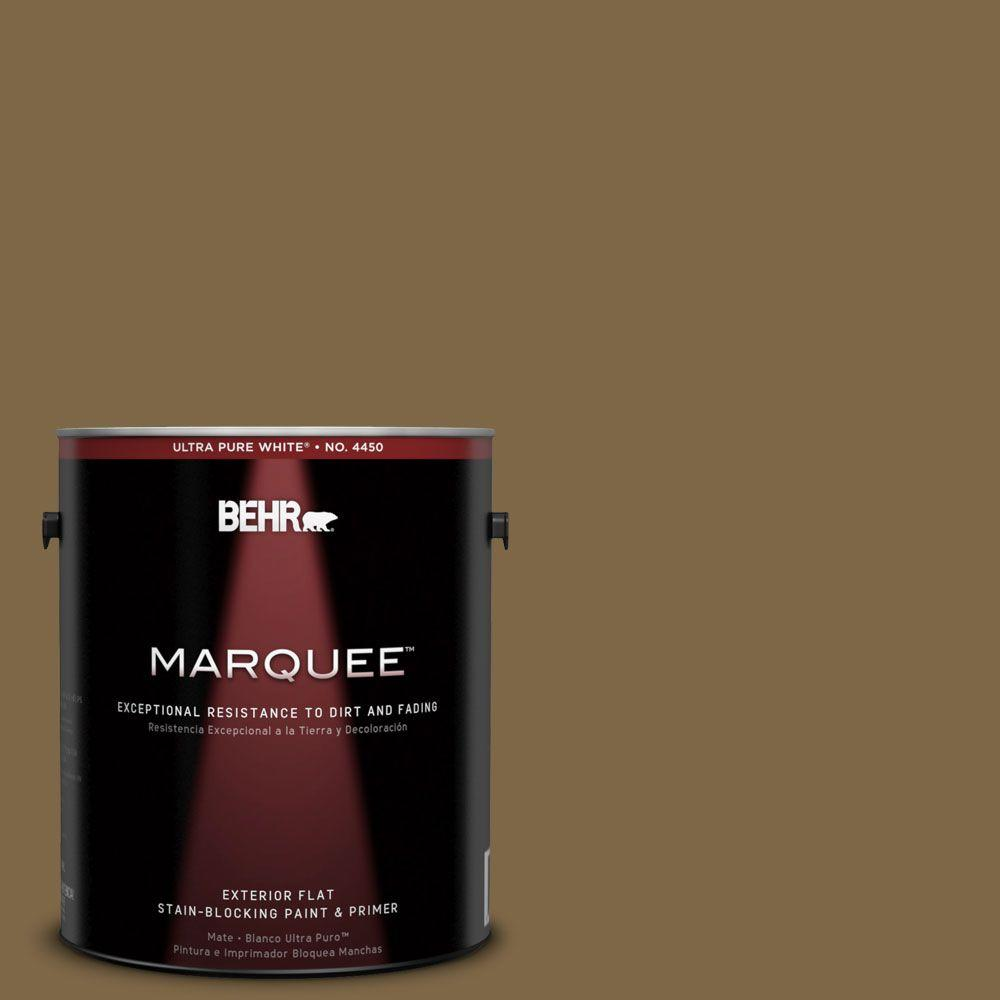 BEHR MARQUEE 1-gal. #320F-7 Fig Flat Exterior Paint-445301 - The Home