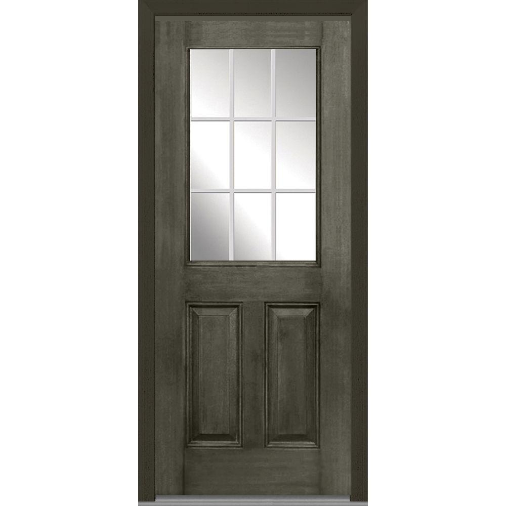 Milliken Millwork 37.5 in. x 81.75 in. Classic Clear Glass GBG