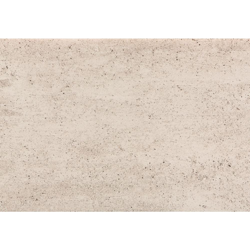 4 in. Ultra Compact Surface Countertop Sample in Dove Concrete