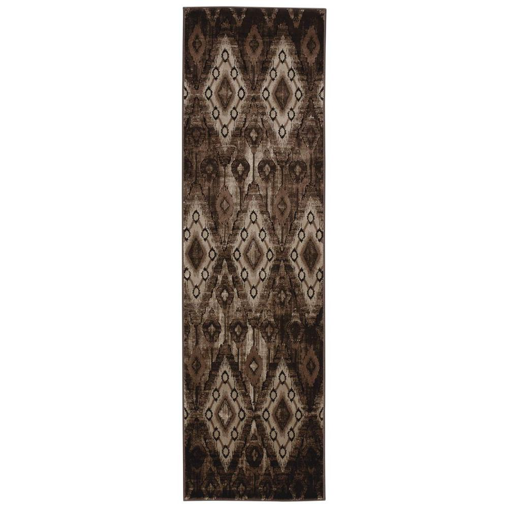 Karma Chocolate 2 ft. 2 in. x 7 ft. 6 in.