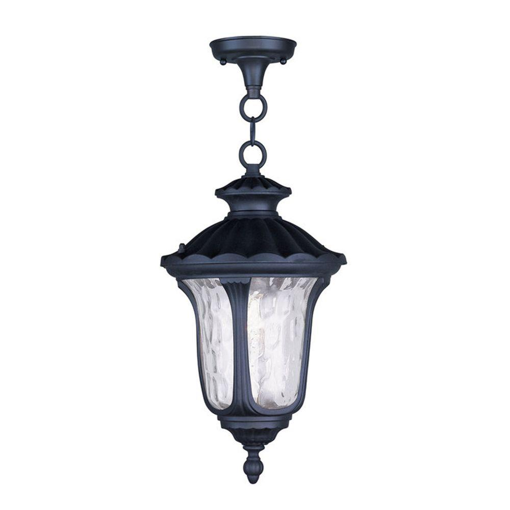 Providence 1-Light Outdoor White Incandescent Pendant