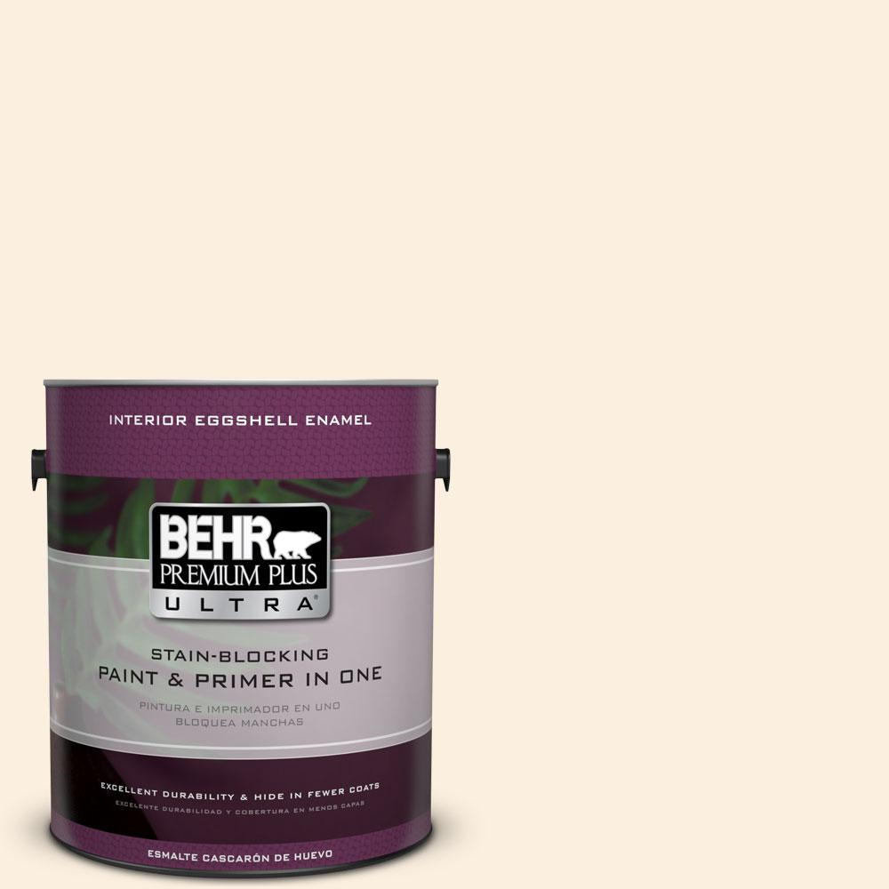 1-gal. #P230-1 White Grapefruit Eggshell Enamel Interior Paint