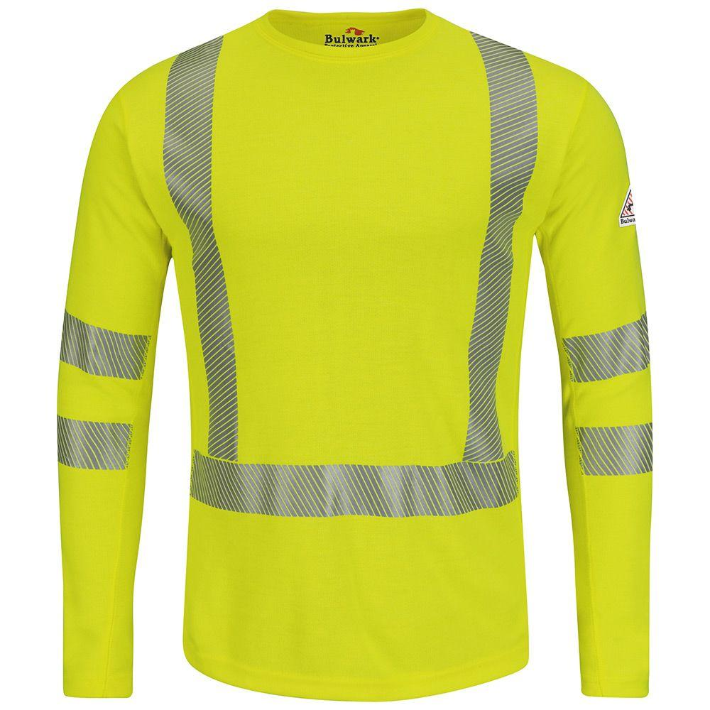 Men's RG XX-Large Yellow Hi-Visibility Long Sleeve Tee