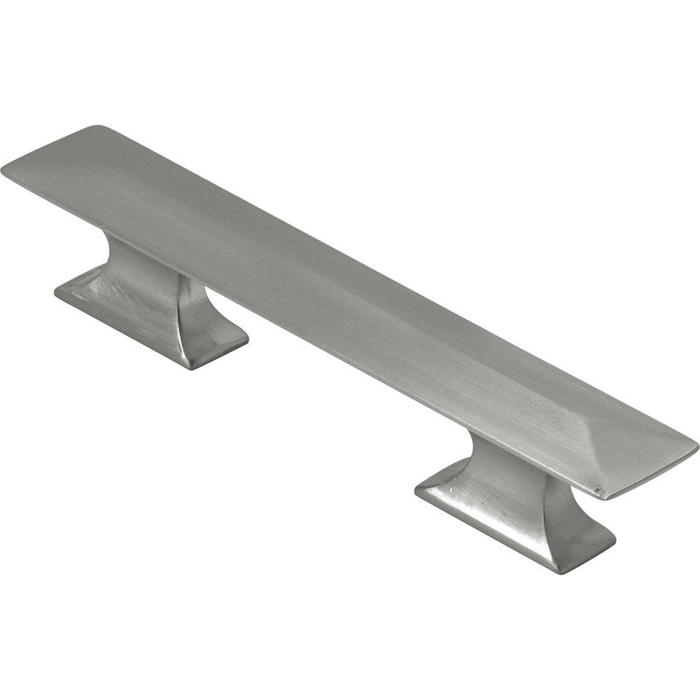 Hickory Hardware Bungalow 3 in. Satin-Nickel Pull