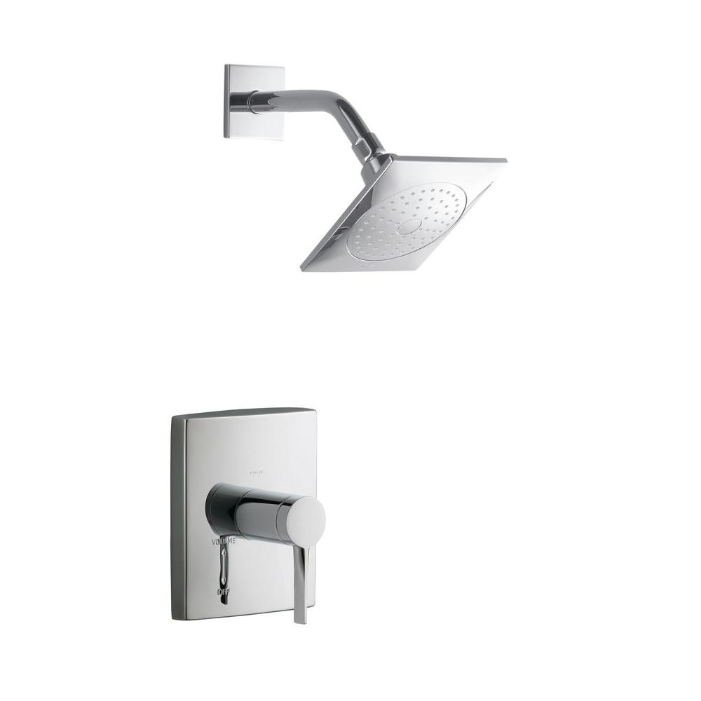 Stance 1-Handle Shower Faucet Trim in Polished Chrome (Valve Not Included)