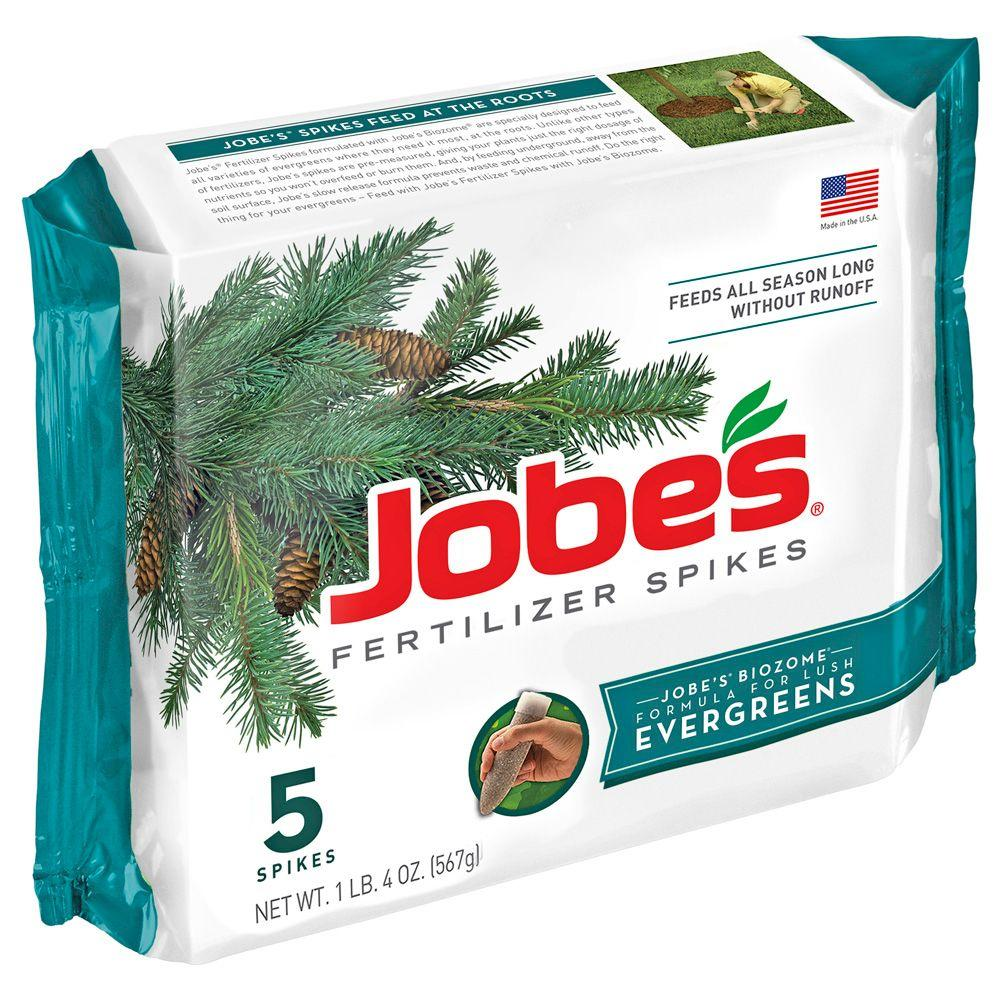 Jobe's Evergreen Tree Fertilizer Spikes (5-Pack)-DISCONTINUED