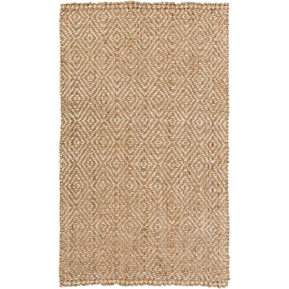 Delsin Ivory 3 ft. 3 in. x 5 ft. 3 in. Indoor Area Rug