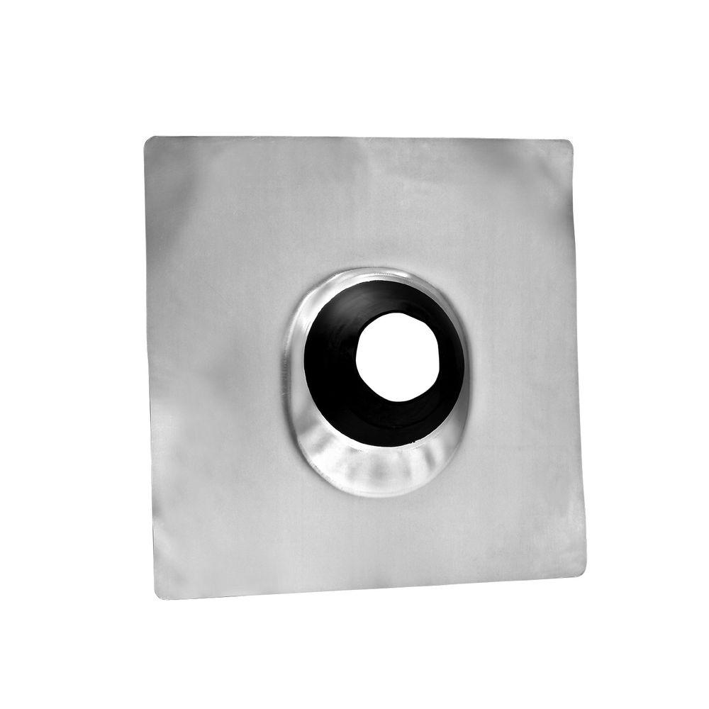Oatey Galvanized 4 in. No-Calk Roof Flashing
