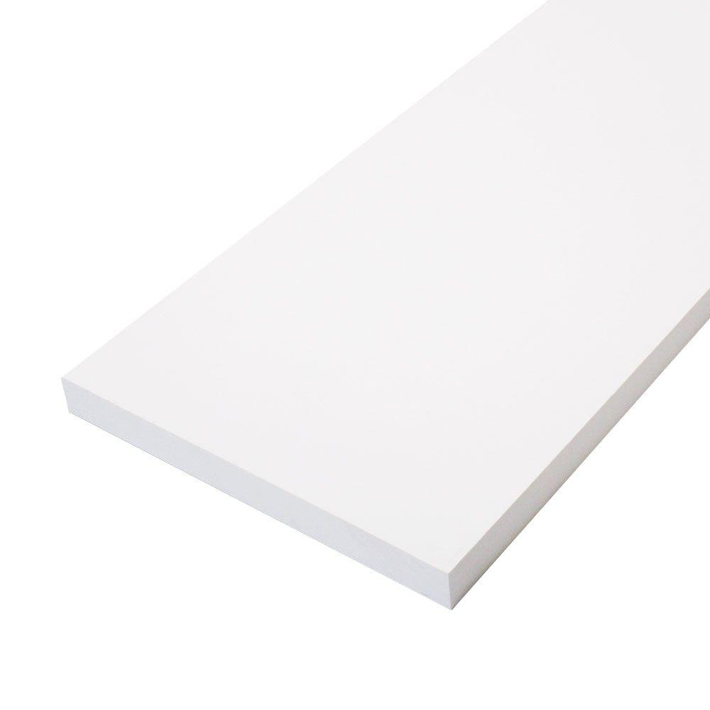 null 1 in. x 8 in. x 16 ft. Primed Finger-Joint Board