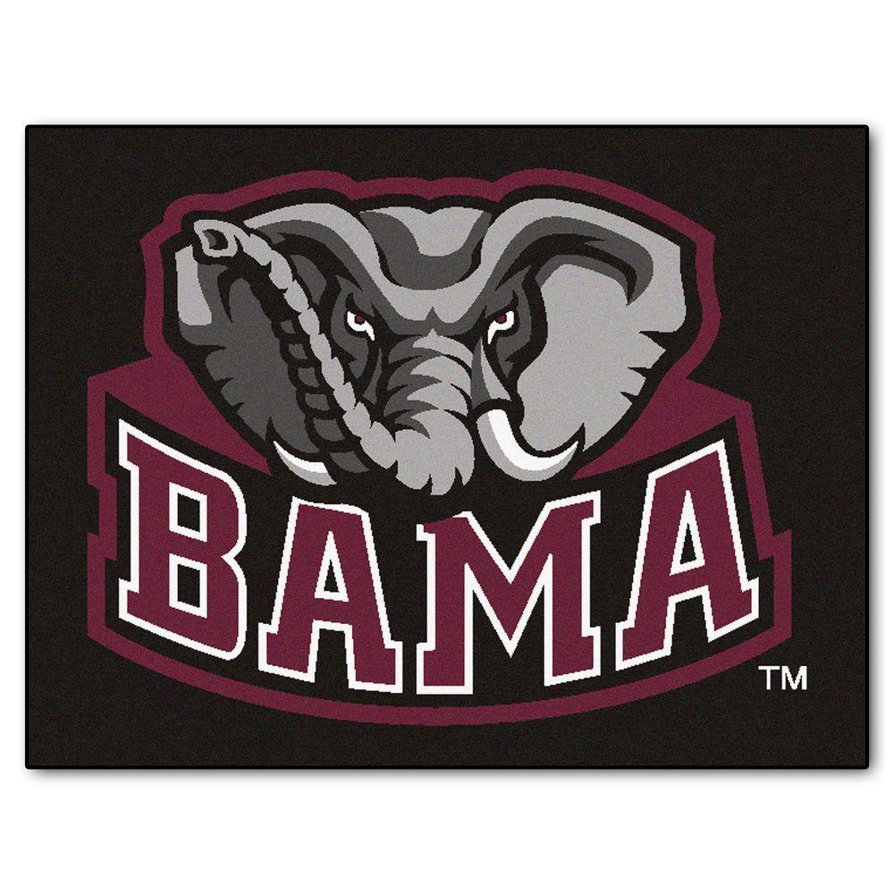 NCAA University of Alabama Black 2 ft. 10 in. x 3