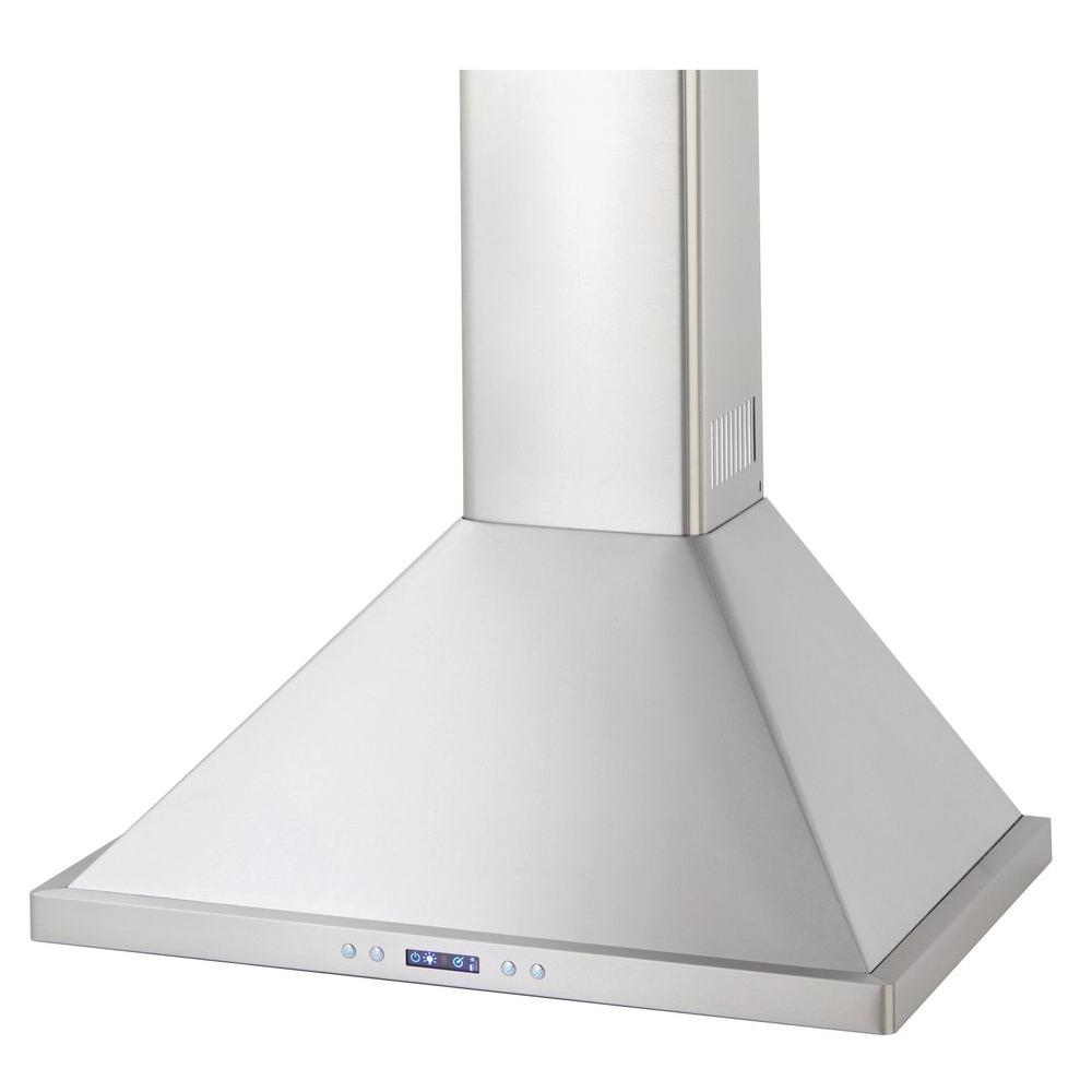 Danby Silhouette Select 30 in. Chimney Style Range Hood in Stainless Steel