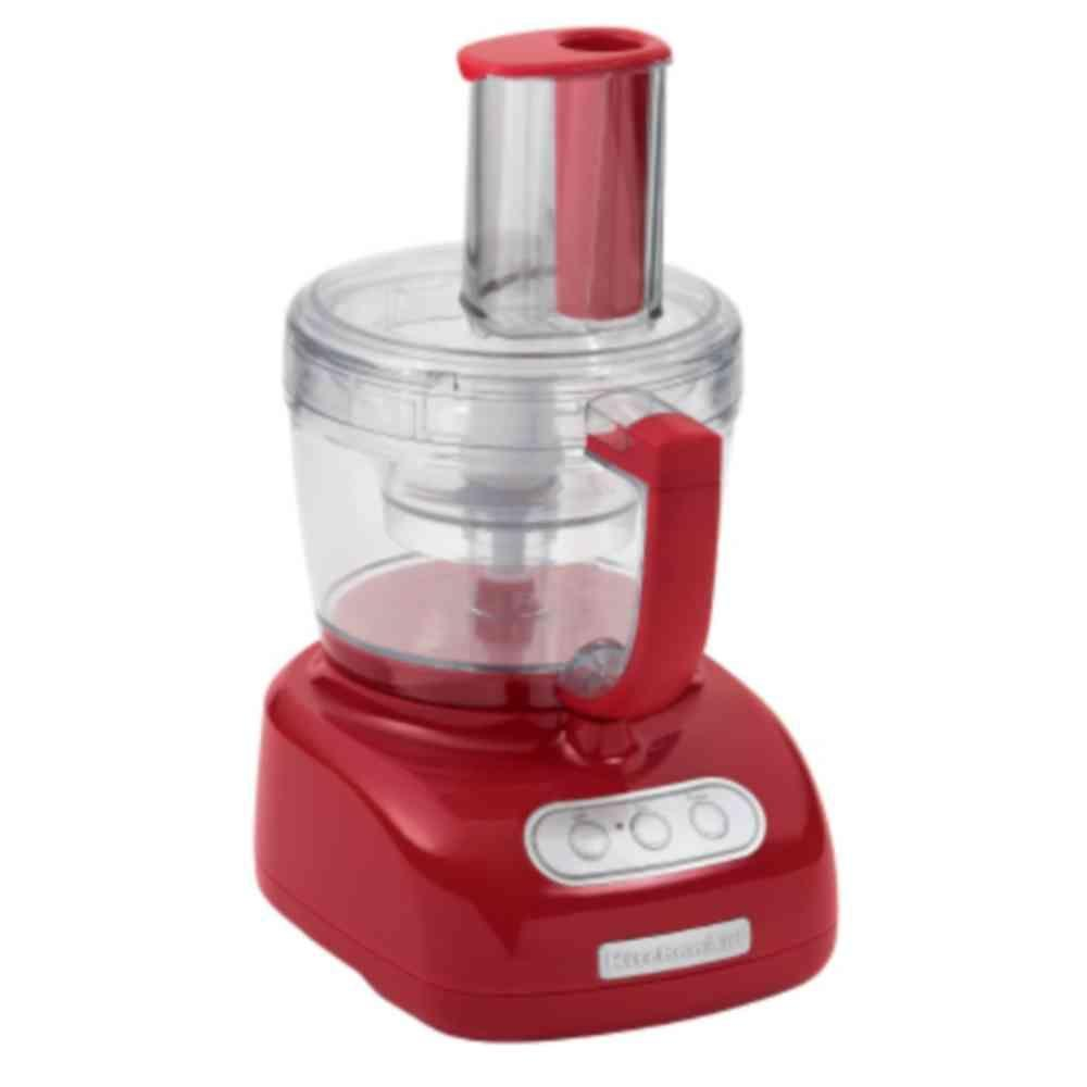 KitchenAid 12 Cup Food Processor in Empire Red-DISCONTINUED