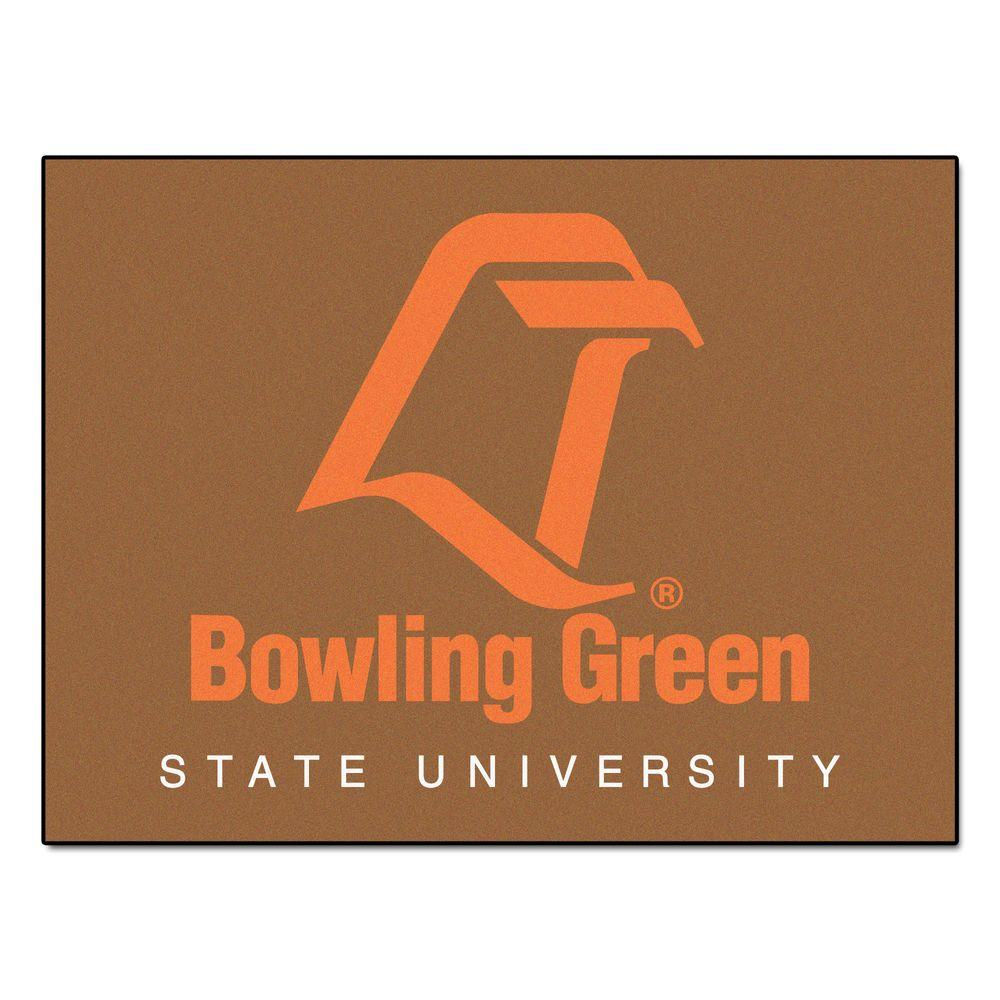 FANMATS Bowling Green State University 2 ft. 10 in. x 3 ft. 9 in. All-Star Rug-DISCONTINUED