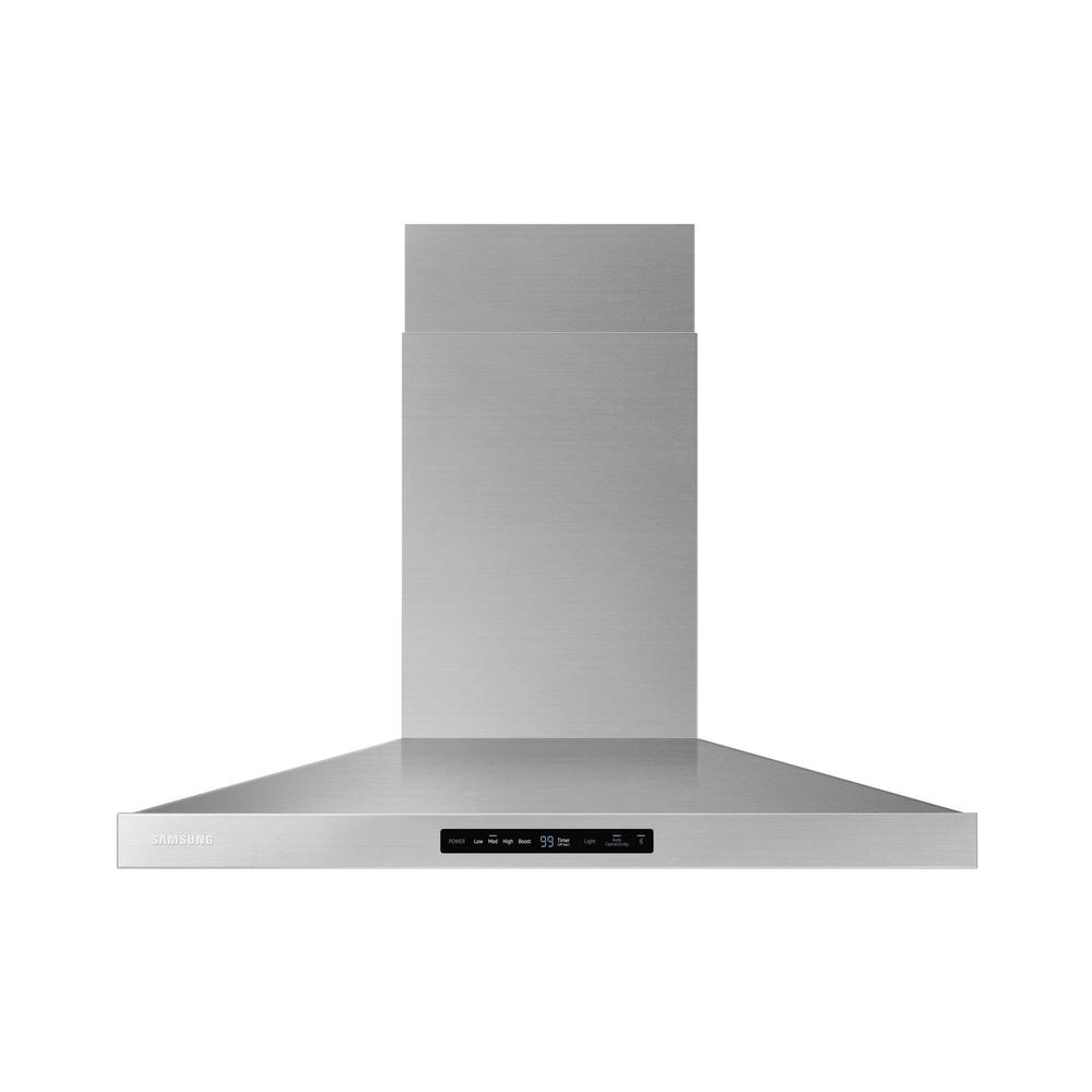 36 in. Wall Mount Exterior Venting Range Hood in Stainless Steel