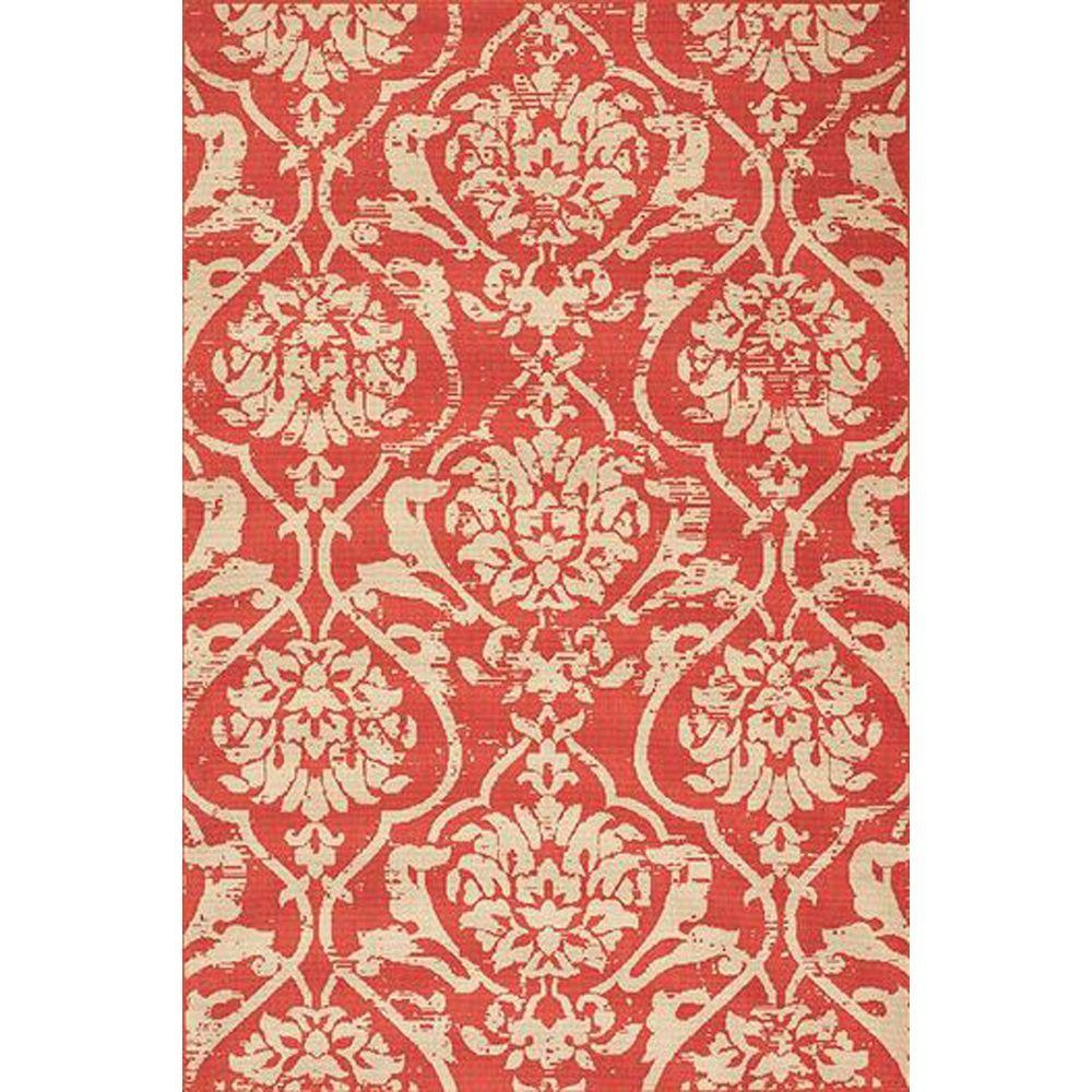 Home Decorators Indoor/Outdoor Area Rug: Home Decorators Collection Rugs Caterina Coral 8 ft. 6 in. x 13 ft. 8162750570