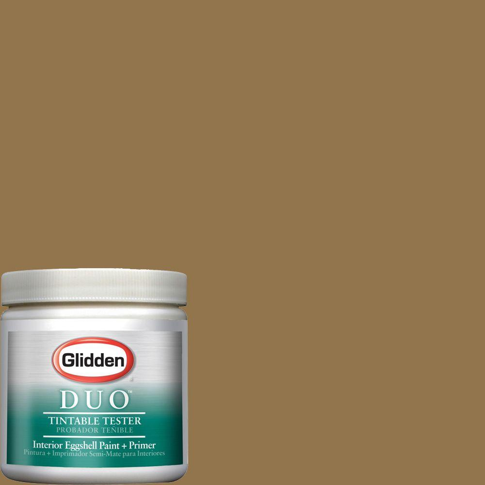 Glidden Team Colors 8-oz. #CFB-202B NCAA University of Central Florida Gold Interior Paint Sample