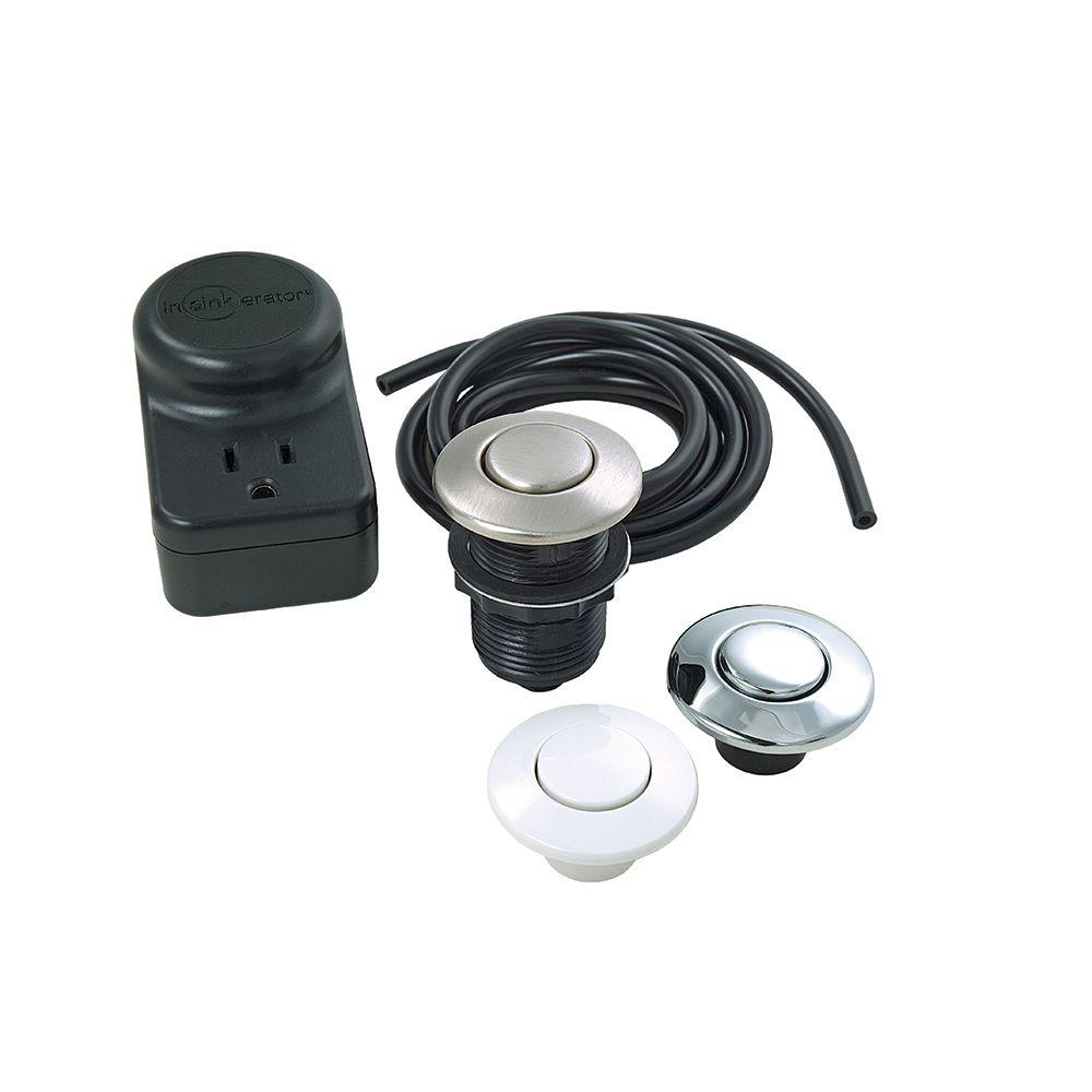 InSinkErator Single Outlet SinkTop Switch Kit for InSinkErator Garbage Disposals