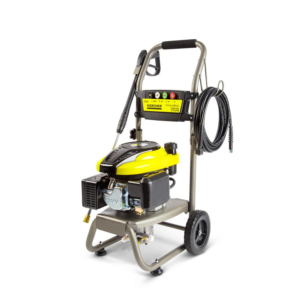 G 2200 Performance Series 2200-PSI 2.0-GPM Gas Pressure Washer