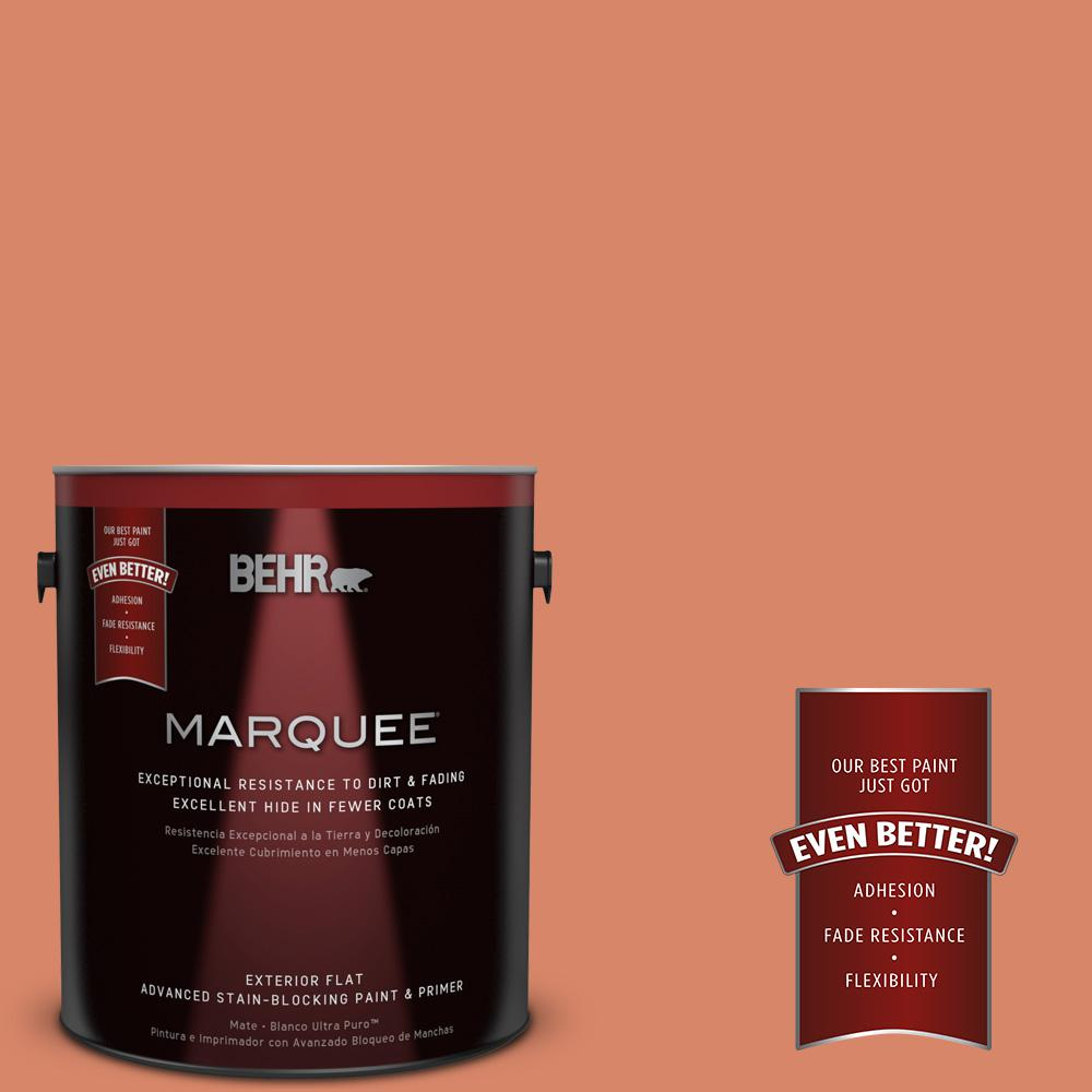 BEHR MARQUEE 1-gal. #M180-5 King Salmon Flat Exterior Paint