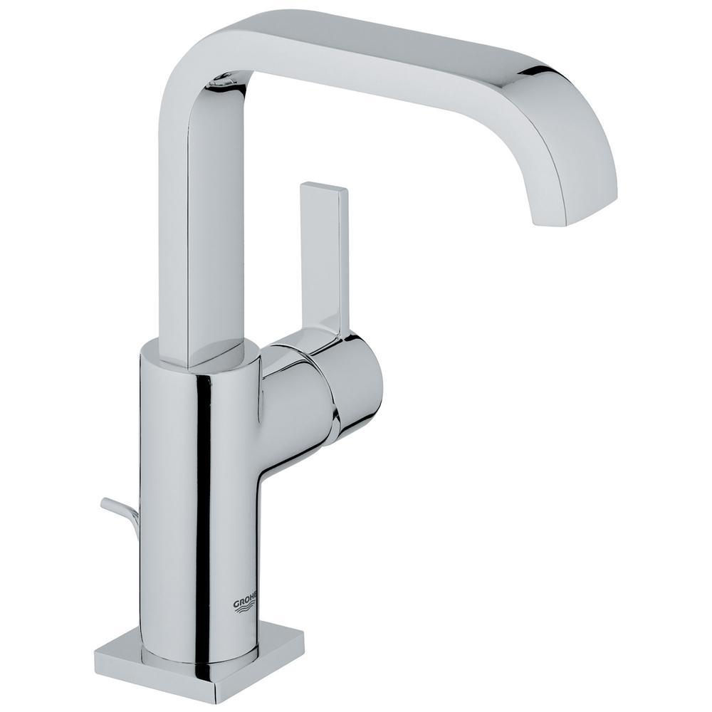 Allure Single Hole Single-Handle 1.2 GPM Bathroom Faucet in StarLight Chrome
