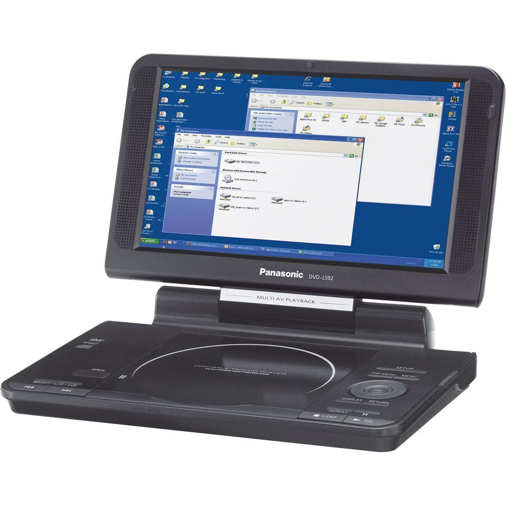 Panasonic 9 in. Widescreen Portable DVD Player-DISCONTINUED