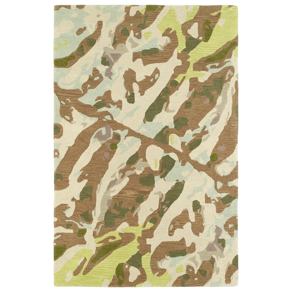 Synthesis Light Brown 9 ft. x 12 ft. Area Rug