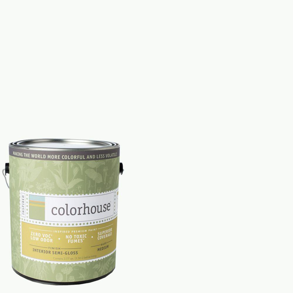 Colorhouse 1-gal. Imagine .01 Semi-Gloss Interior Paint-483415 - The Home Depot