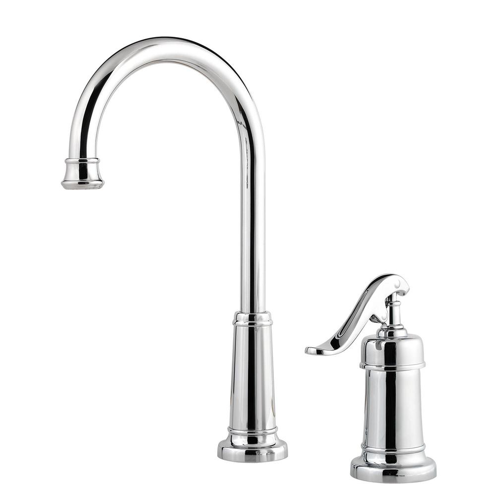 Ashfield Single-Handle Bar Faucet in Polished Chrome