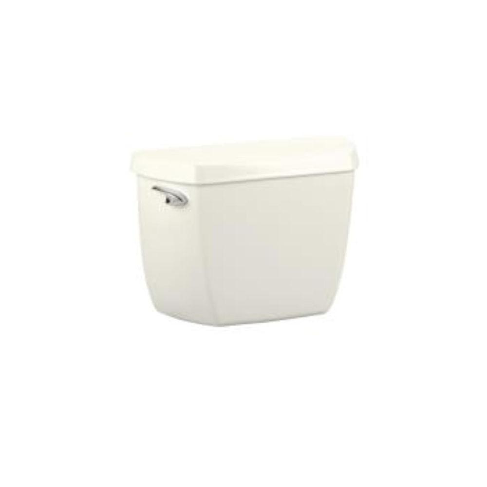 KOHLER Wellworth Classic 1.6 GPF Toilet Tank Only with Locks in Biscuit-DISCONTINUED