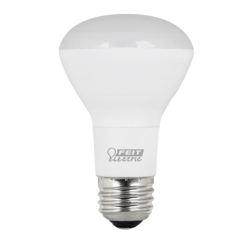45W Equivalent Soft White (2700K) R20 Dimmable LED Light Bulb (Case