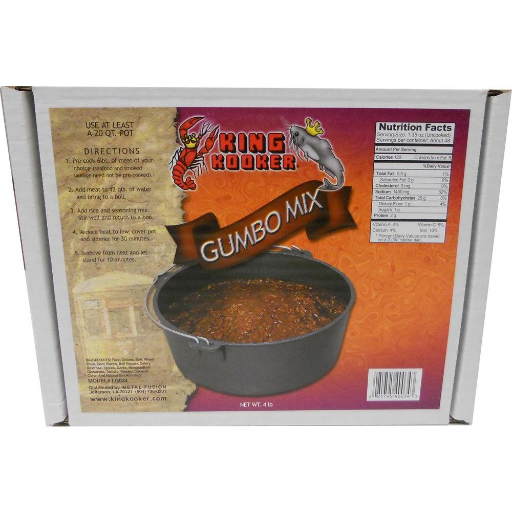 4 lbs. Party Size Gumbo Mix