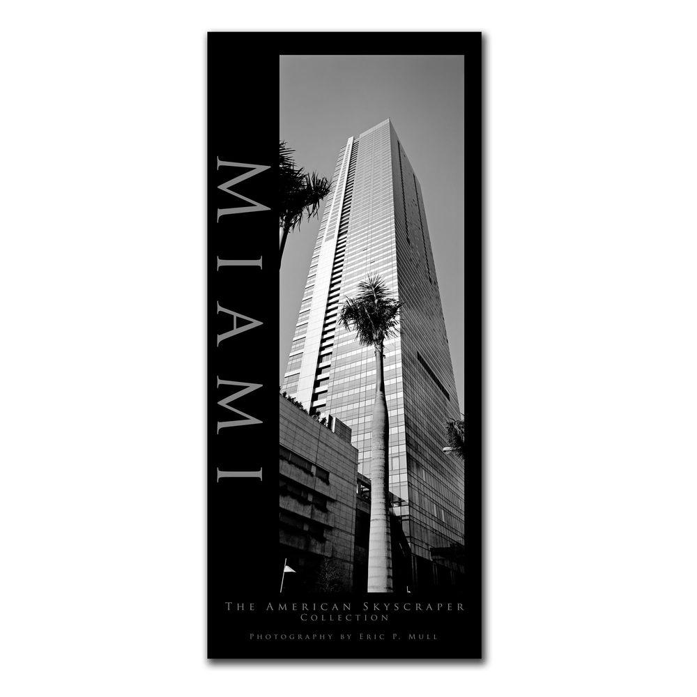 14 in. x 32 in. Miami Canvas Art-EM184-C1432GG - The Home