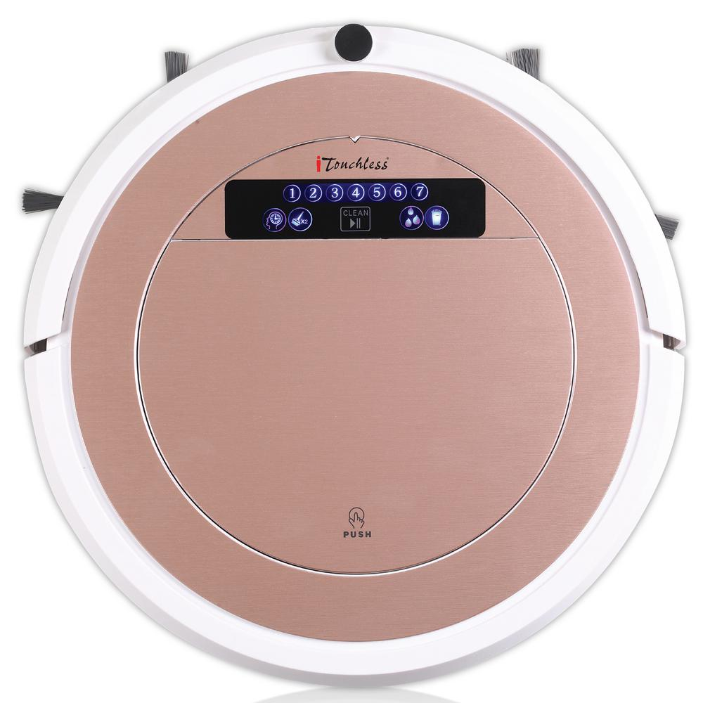 UV-C Sterilizer Robot Vacuum Cleaner with HEPA Filter with Wet Mop