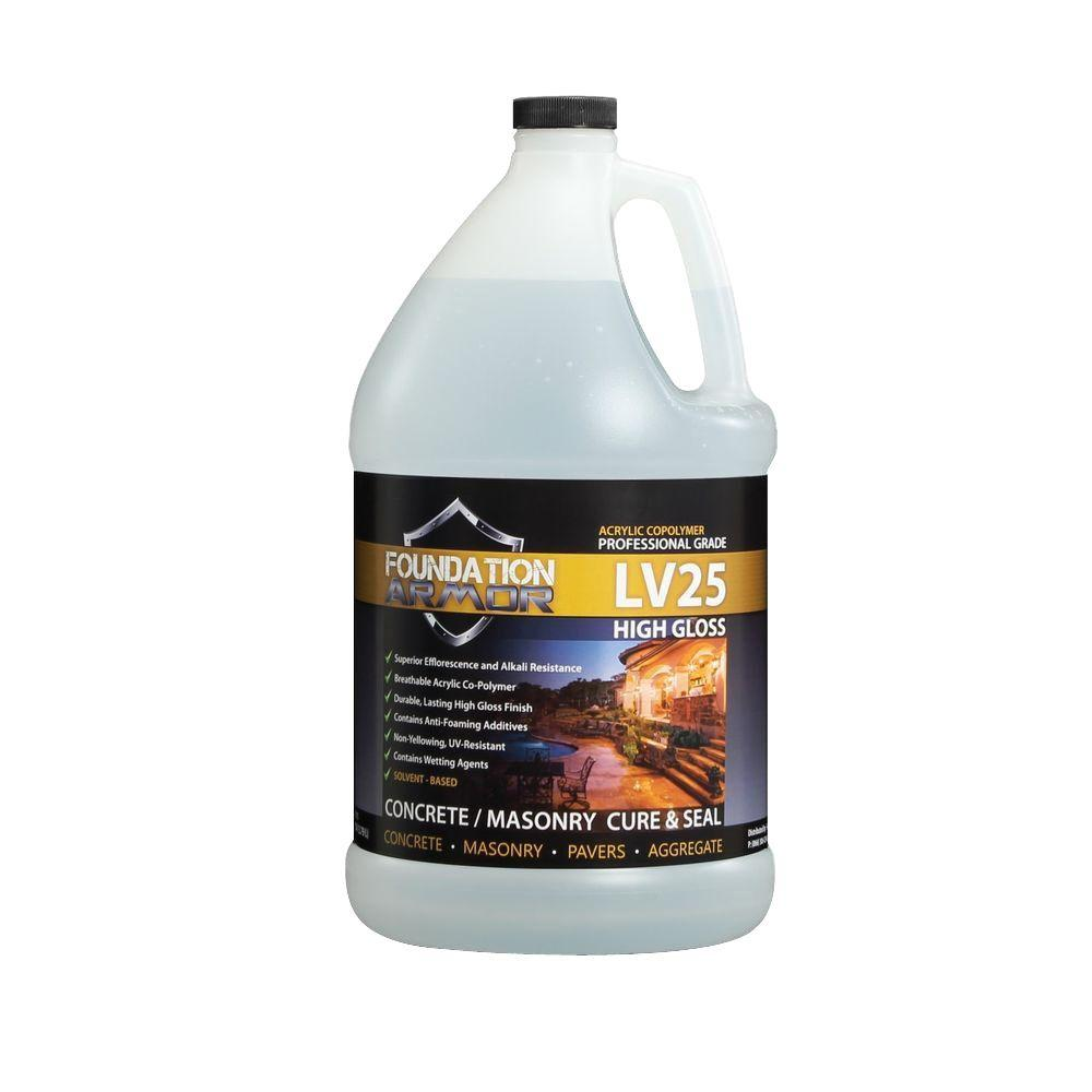 1 gal. Solvent Based High Gloss Acrylic Concrete Cure and Seal