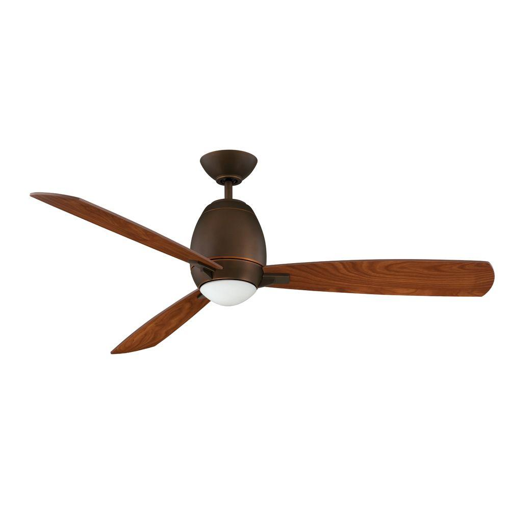 Designers Choice Collection Quattro 52 in. Architectural Bronze Ceiling Fan