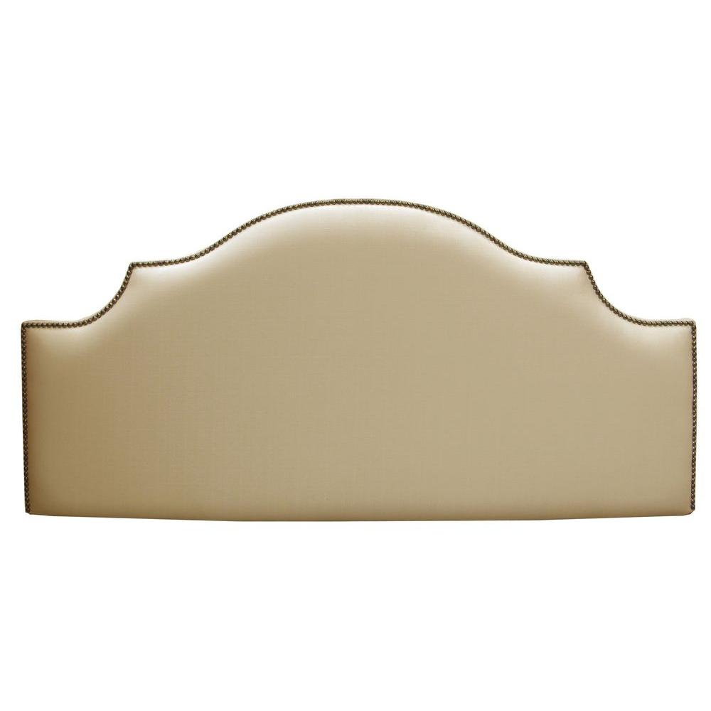 Home Decorators Collection Verona Sandstone Upholstered Twin Headboard-830LSAND