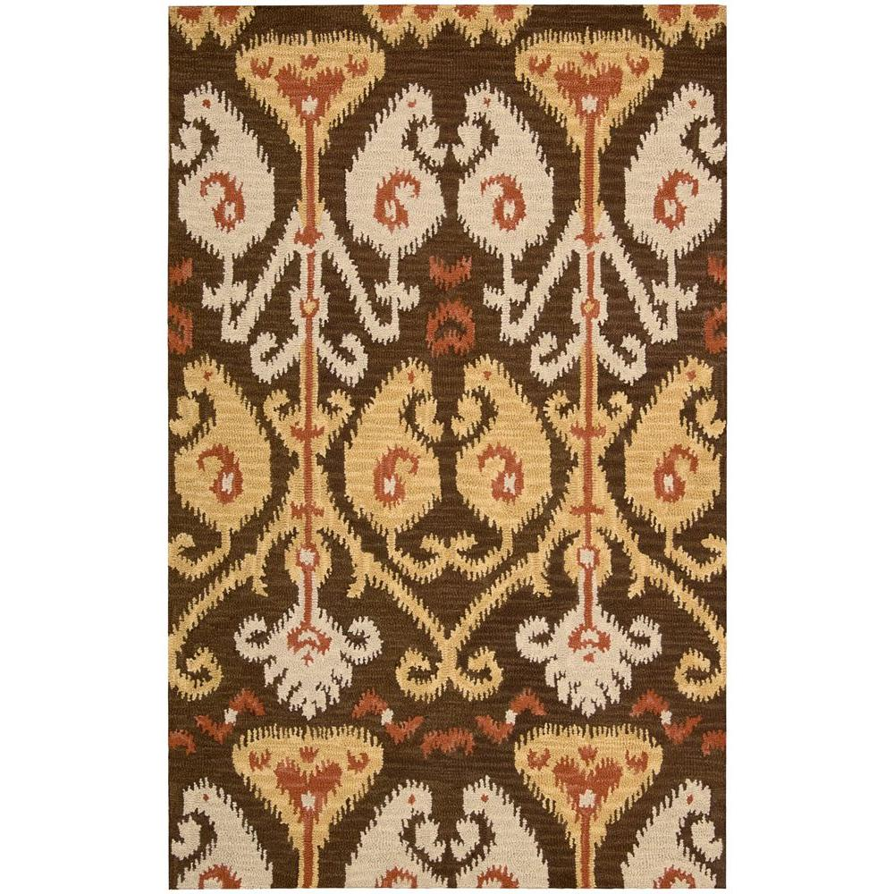 Siam Chocolate 8 ft. x 10 ft. 6 in. Area Rug