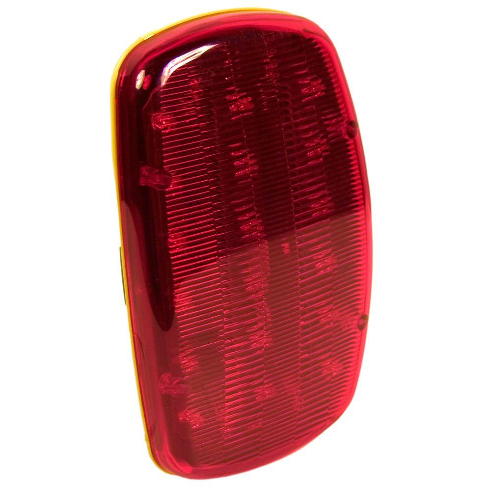 Blazer International 6.25 in. LED Dual Function Warning Lamp Red with