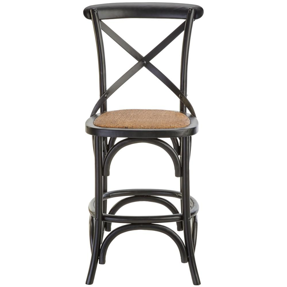 Home decorators collection industrial mansard adjustable height black bar stool 0559400210 the Home depot wood bar stools
