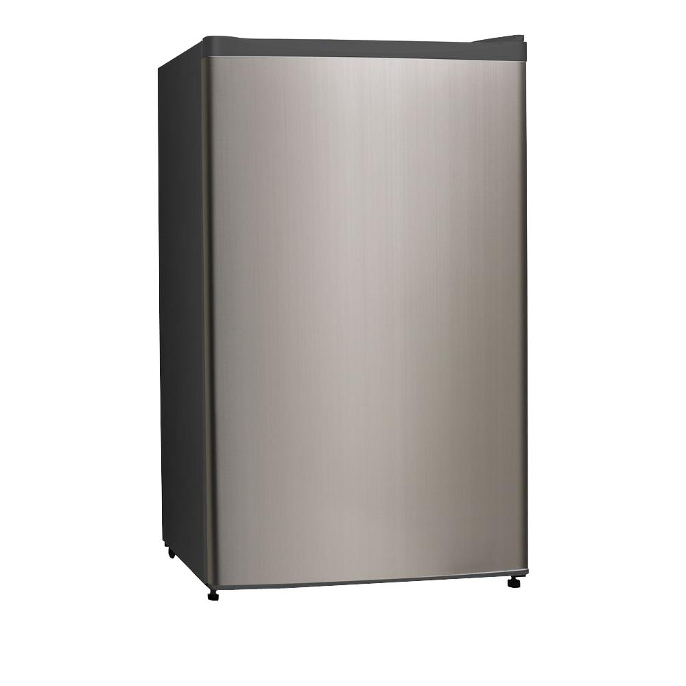 Midea 3.3 cu. ft. Mini Refrigerator in Stainless Steel-WHS121LSS1 - The