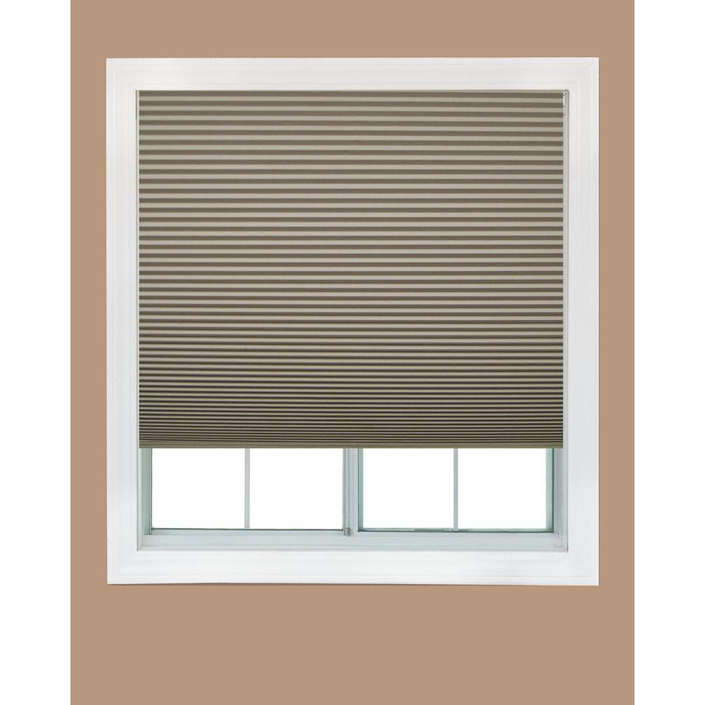 Redi Shade Easy Lift Trim-at-Home Natural 9/16 in. Cordless Point Bond
